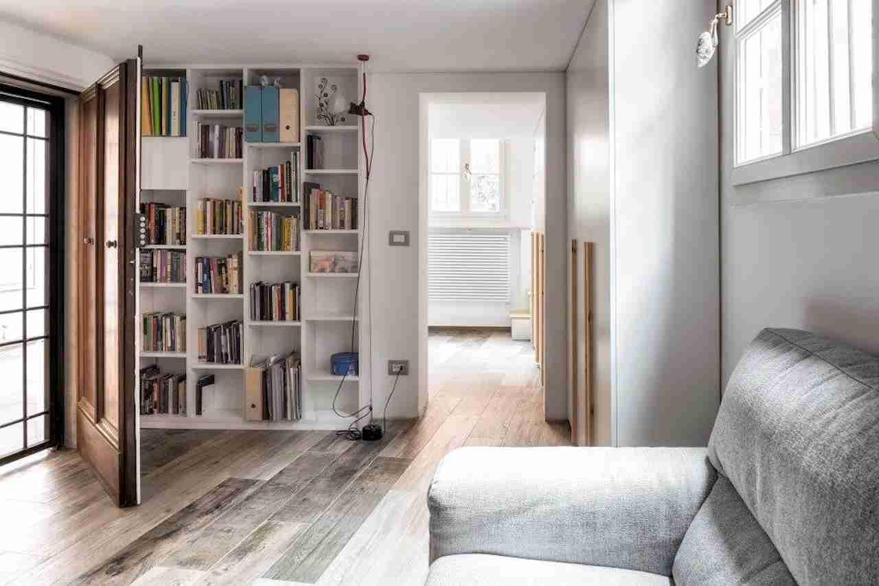 Cucina armadi libreria e scale atanor falegnameria di bologna