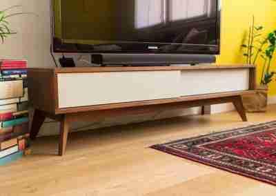 Mobile porta TV in legno di rovere COD. PRV0003