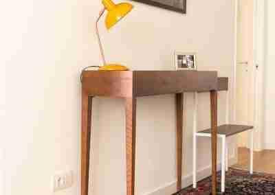 Tavolo consolle in legno di rovere COD. PRV0003