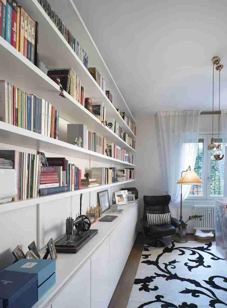 Prezzo Libreria Su Misura.Arredamento Su Misura Per Privati Atanor Falegnameria Di Bologna